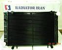 Радиатор Газель 3302 со штырями 2 рядный медный пр-во Иран Радиатор, фото 4