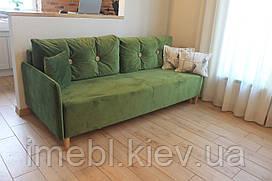 Кухонний диван зі спальним місцем і містким ящиком (Фісташка)