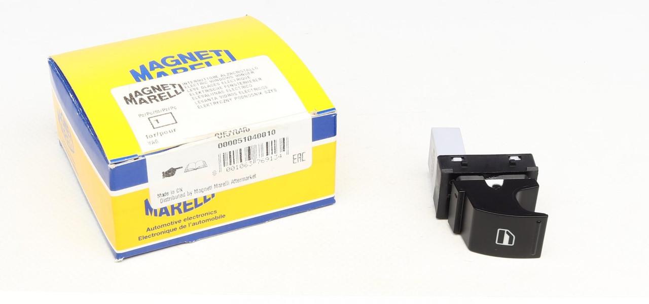 Кнопка склопідіймача (права) VW Caddy 03- (000051040010) MAGNETI MARELLI