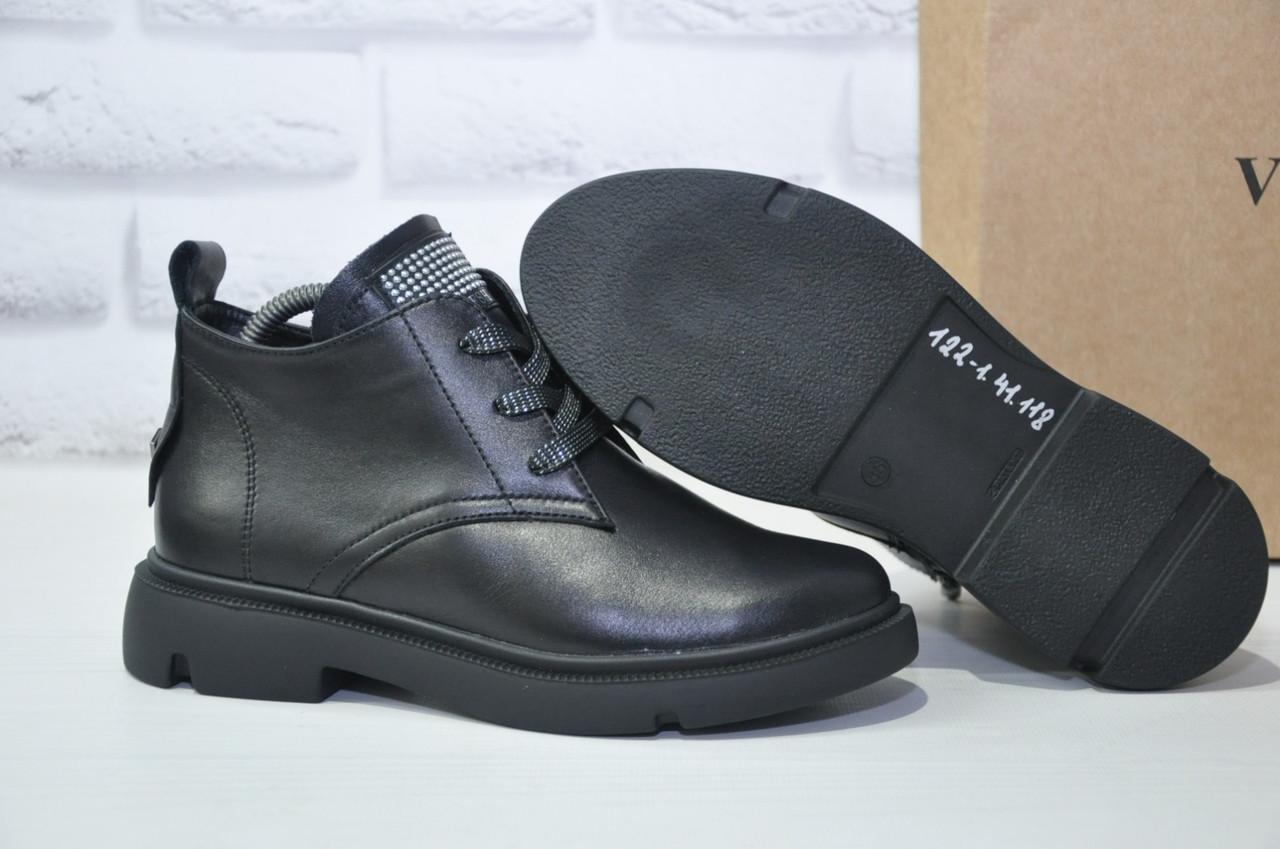 Стильные женские ботинки из натуральной кожи Dino Vittorio