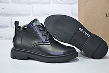 Стильні жіночі черевики з натуральної шкіри Dino Vittorio