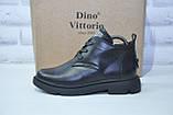 Стильные женские ботинки из натуральной кожи Dino Vittorio, фото 2