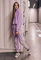 """Костюм женский сирень """"Lilac"""" спортивный. Женский костюм фиолетовый демисезонный."""