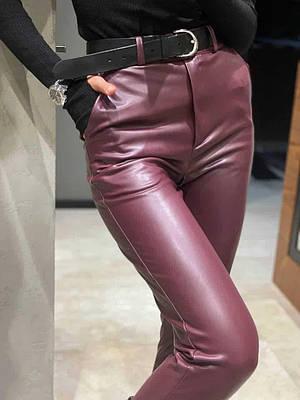 Женские брюки Fleece марсал