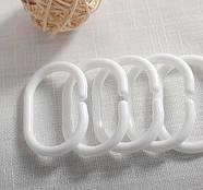 Тканинна шторка для душа 180х200 см White cell, фото 5