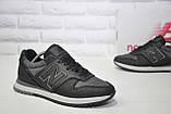 Мужские кроссовки натуральная кожа и текстиль New Balance, фото 2