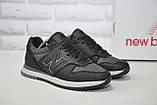 Мужские кроссовки натуральная кожа и текстиль New Balance, фото 5