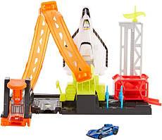 Трек Хот Вилс  Стартовая площадка шаттла Mattel Hot Wheels Super Space Shuttle Launch Pad Set