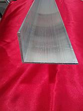 Уголок алюминиевый  40*60*2,0 мм. анодированный
