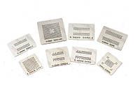 Набор из 8 BGA трафаретов для памяти DDR DDR2 DDR3