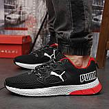 Кросівки чоловічі 18302, Puma LQDCELL, чорні, [ 41 42 43 44 45 46 ] р. 41-26,5 див. 42, фото 2
