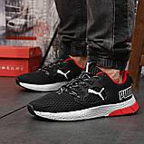 Кросівки чоловічі 18302, Puma LQDCELL, чорні, [ 41 42 43 44 45 46 ] р. 41-26,5 див. 42, фото 3