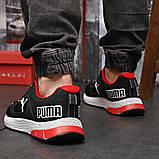 Кросівки чоловічі 18302, Puma LQDCELL, чорні, [ 41 42 43 44 45 46 ] р. 41-26,5 див. 42, фото 4