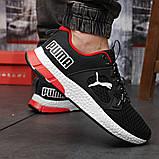 Кросівки чоловічі 18302, Puma LQDCELL, чорні, [ 41 42 43 44 45 46 ] р. 41-26,5 див. 42, фото 6