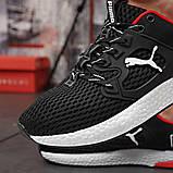 Кросівки чоловічі 18302, Puma LQDCELL, чорні, [ 41 42 43 44 45 46 ] р. 41-26,5 див. 42, фото 7