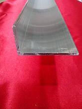 Уголок алюминиевый 30*50*2 мм анодированный