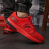 Кросівки чоловічі 18303, Puma LQDCELL, червоні, [ 41 42 43 44 45 46 ] р. 41-26,5 див. 45, фото 6