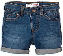 Детские и подростковые джинсовые шорты для мальчиков 9-13 лет, 134-158 см Minoti, 134-140 см