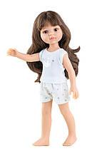 Кукла Паола Рейна Кэрол с челкой в пижаме Paola Reina