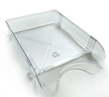 Горизонтальный лоток прозрачный ЛГ-06