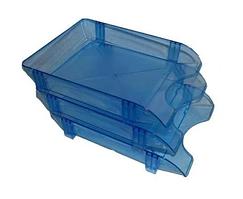 Горизонтальный лоток синий ЛГ-06