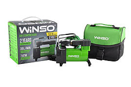 Автокомпрессор WINSO 7 Атм, 35 л/хв. 170Вт, кабель 3м., шланг 1м. | Воздушный компрессор