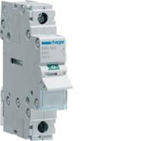 SBN163 Выключатель нагрузки (рубильник) 1-полюсный 63А/230В, 1м, (Hager)