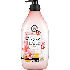Гель для душа с сакурой Happy Bath Forever Perfume Body wash Wild Cherry Blossom 900 г