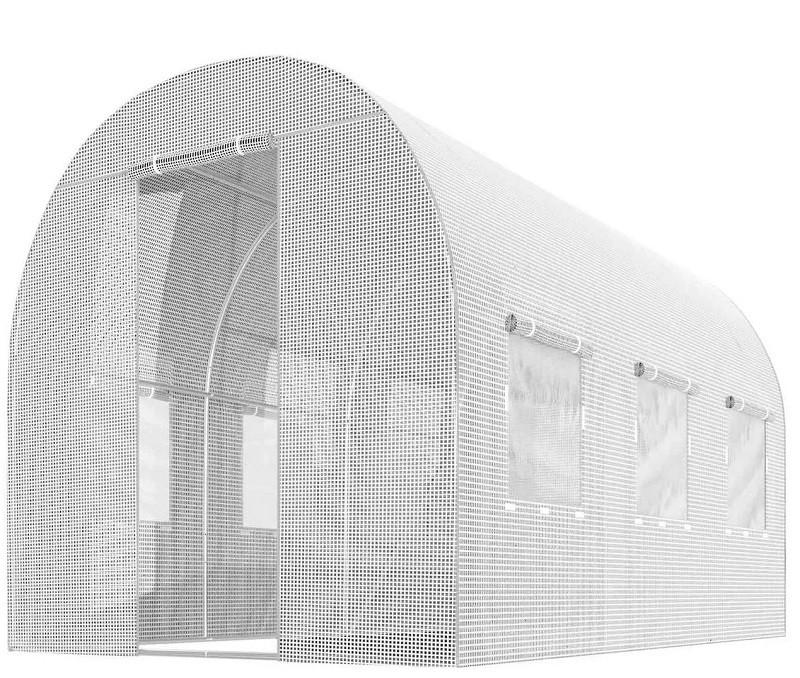 Теплиця парник з вікнами 6м 2х2х3 для городу (садовий тунель дачний фермерський)