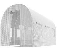 Теплиця парник з вікнами 6м 2х2х3 для городу (садовий тунель дачний фермерський), фото 1