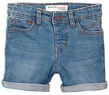 Детские светлые джинсовые шорты для мальчиков 3-4 года, 98-104 см
