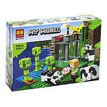 """Конструктор """"Minecraft: My World"""", 210 деталей 11475"""