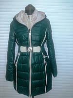 Полу-пальто женское  Kapre 1815 зеленый