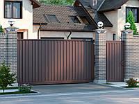 Откатные ворота DoorHan 3000 мм * 2010 мм