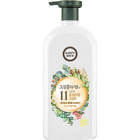 Гель для душа «Жасмин-бергамот» Happy Bath Green Collagen Body Wash Jasmine & Bergamot 750 г
