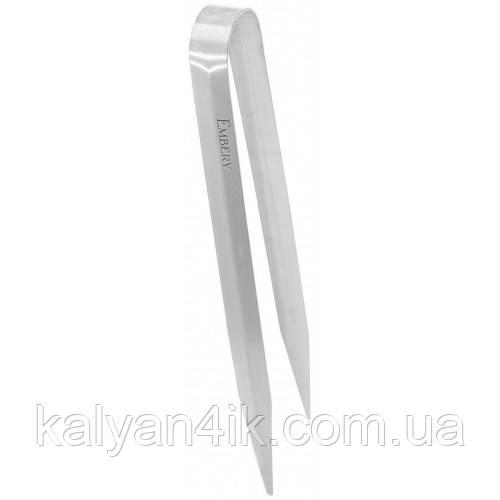 Щипцы для Кальяна Embery Long Tongs - Полированная сталь