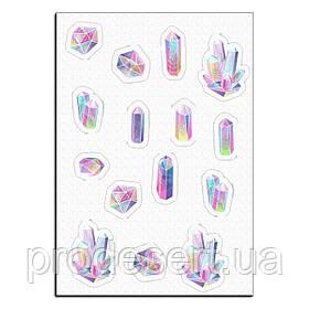 Кристали 2 вафельна картинка