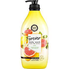 Гель для душа с грейпфрутом и имбирем Happy Bath Forever Perfume Body Wash Grapefruit & Ginger 900 г