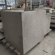 Вазон бетонний 500х500х500, фото 4