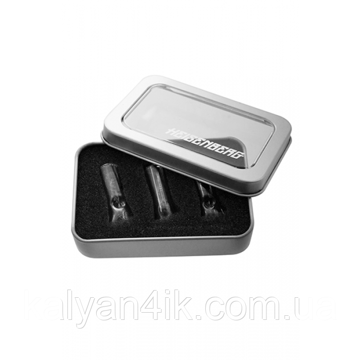 Набір скляних мундштуків в коробці Гейзенберга