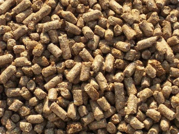 Гранулированный комбикорм для животных: гранулированный корм, ячменно-овсяные гранулы