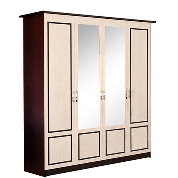Шкаф для одежды Світ Меблів Ким Венге темный/венге светлый
