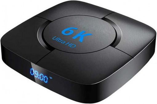 Приставка Transpeed 6K   2/16 GB   Allwinner H616   Android TV Box