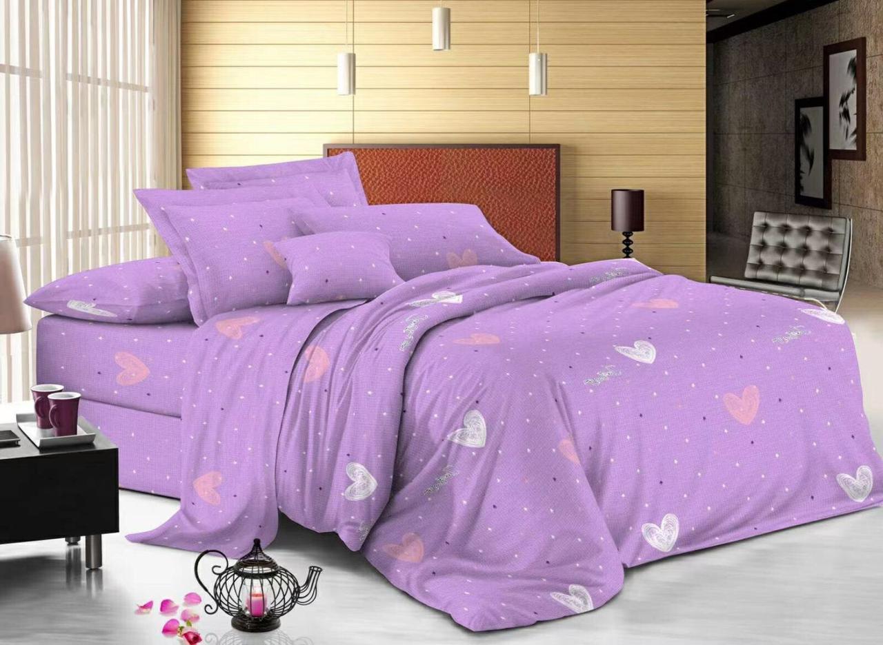 Комплект постельного белья Бязевый, размер Семейный