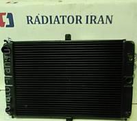 Радиатор охлаждения водяной ВАЗ 2107 медный 2-х рядный