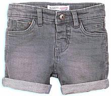Детские джинсовые шорты для мальчиков 4-5 лет Minoti, 104-110 см