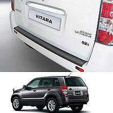 Накладка заднього бампера для Suzuki Grand Vitara 3/5 Dr. 2010-2015 (для версій без запаски на задніх дверях)