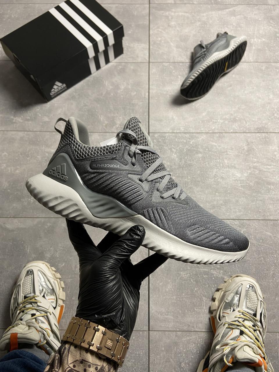 Adidas Alpha Bounce Gray (Серый)
