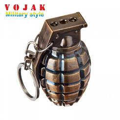 Фонарь брелок-граната 810 (лазер)
