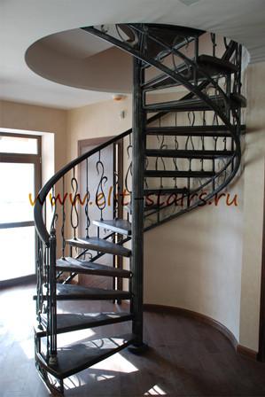 Гвинтові сходи на другий поверх